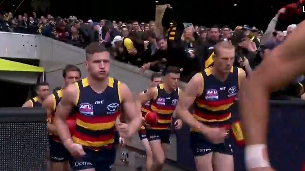 McGovern speaks on Adelaide exit
