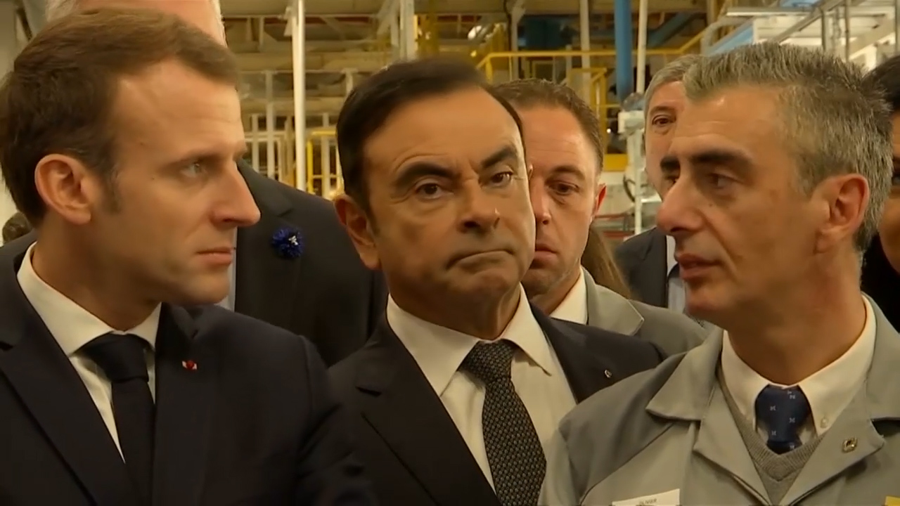 French finance minister speaks on Ghosn