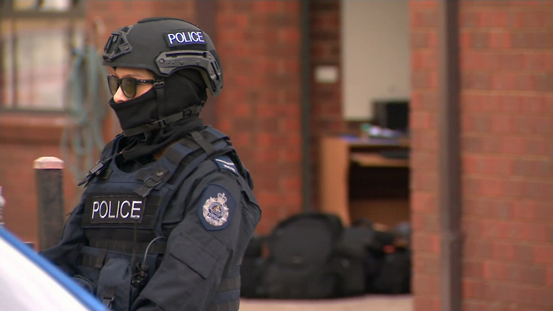 Counter-terror arrests in Melbourne