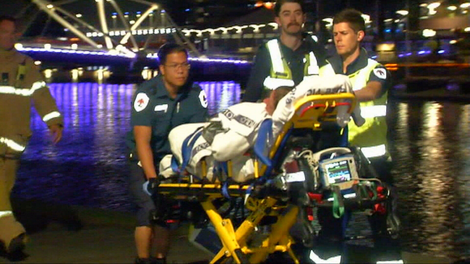 Woman rescued from Yarra River