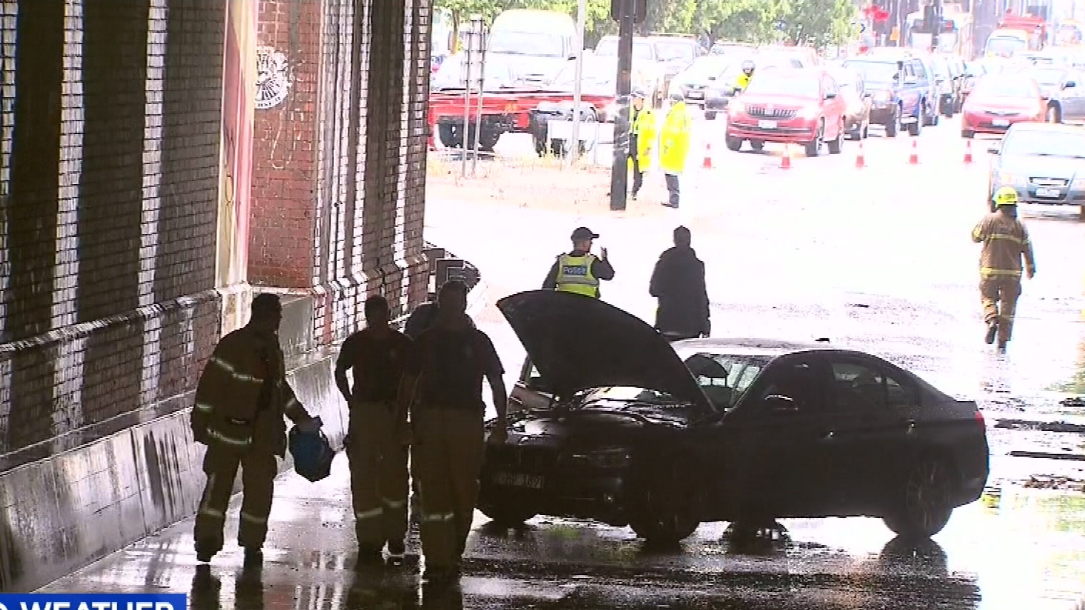 Fierce storms bring down trees, trigger flash flooding
