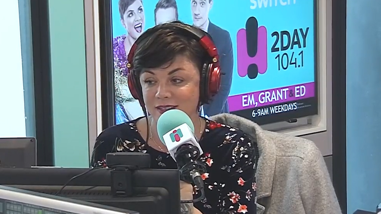 Em Rusciano announces pregnancy live on air