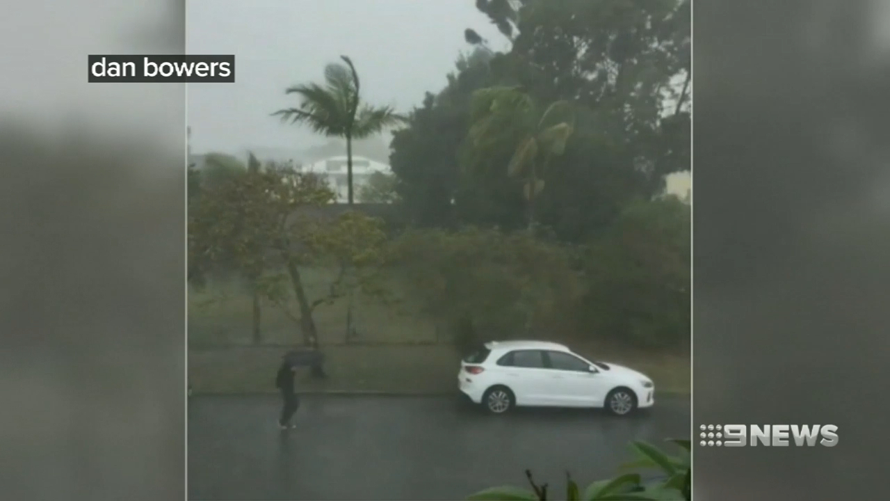 South East Queensland hit by rapid storm