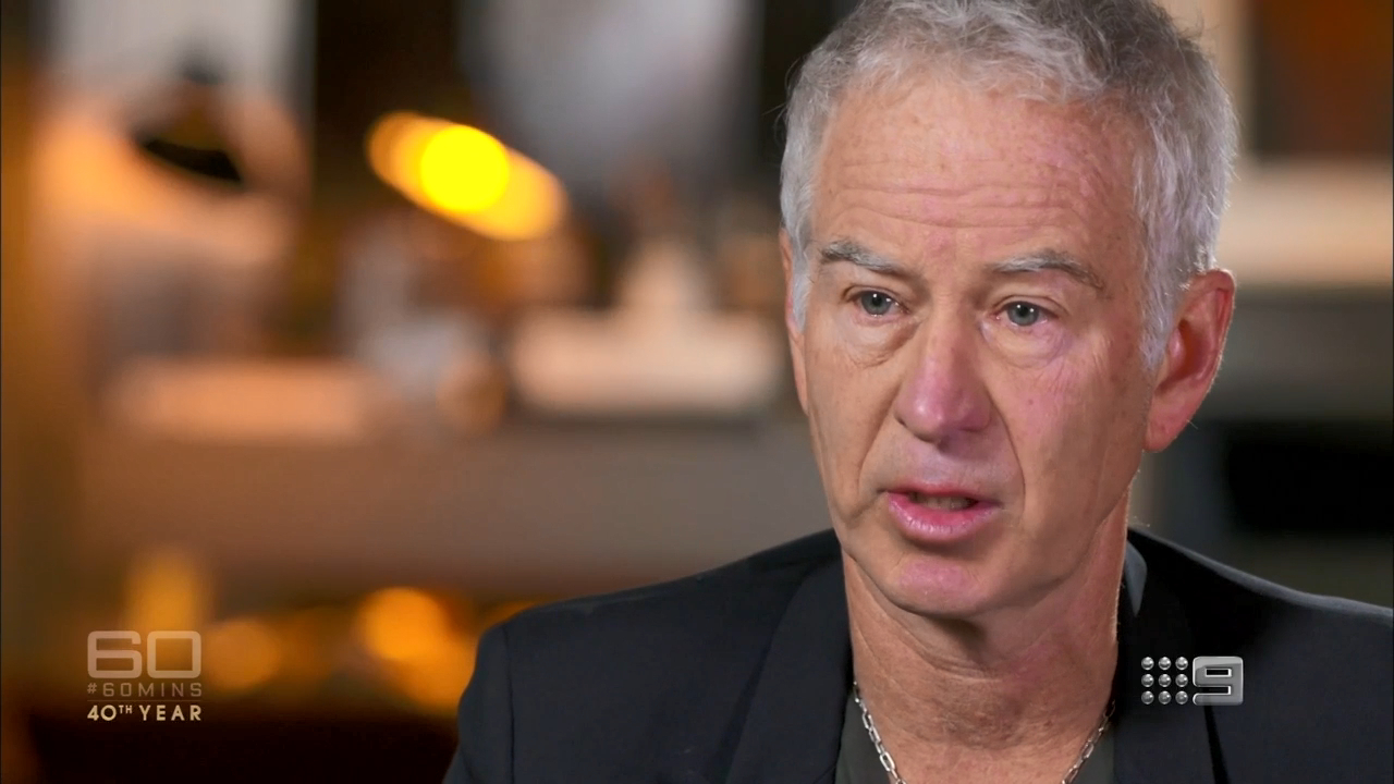 McEnroe's grim warning to Kyrgios