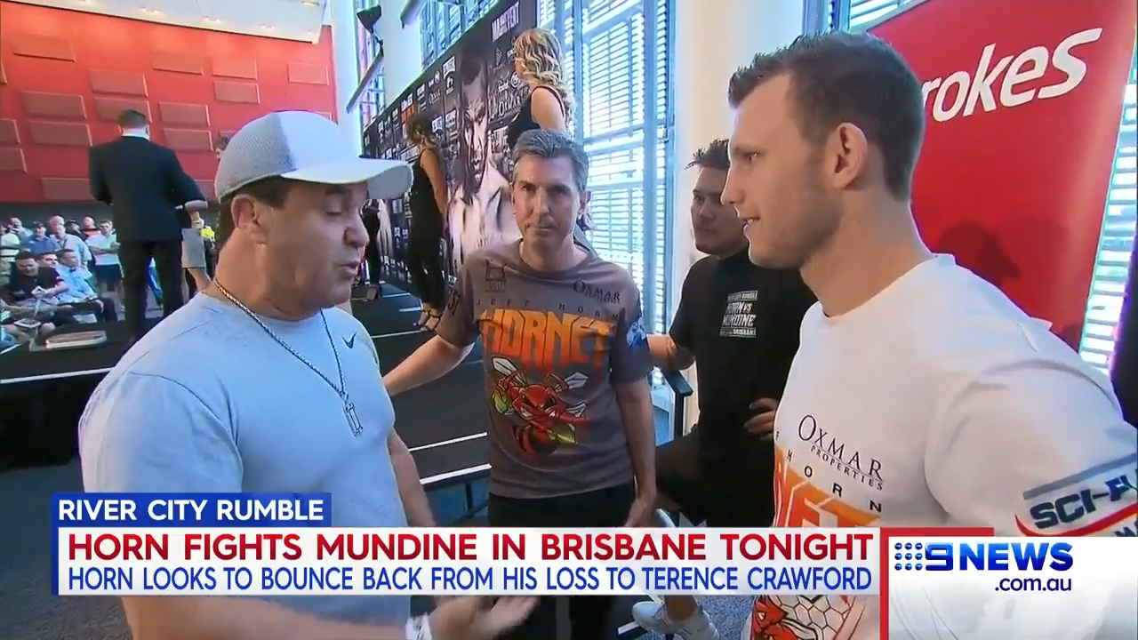 Horn looking to ruin Mundine's farewell