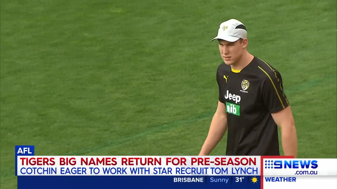 Richmond welcome Lynch to training