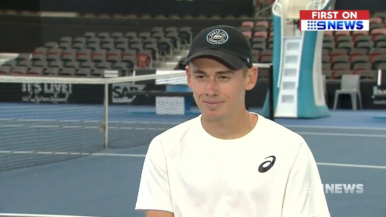 De Minaur reveals his 2019 goals