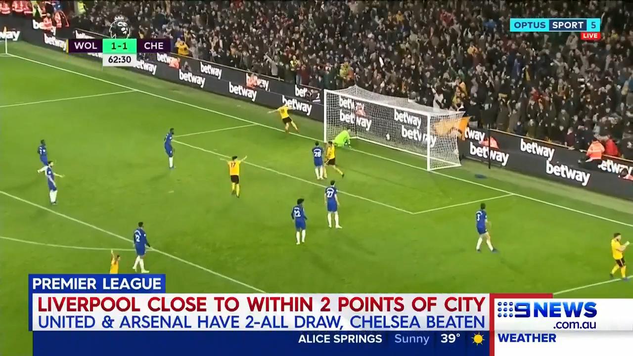 Wolves stun Chelsea