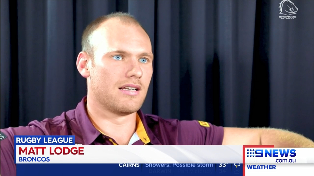 Lodge re-signs with Broncos