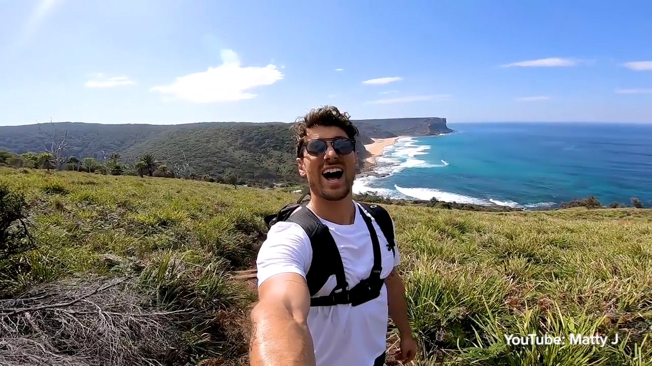 Matty J explores Australia's best hidden beach
