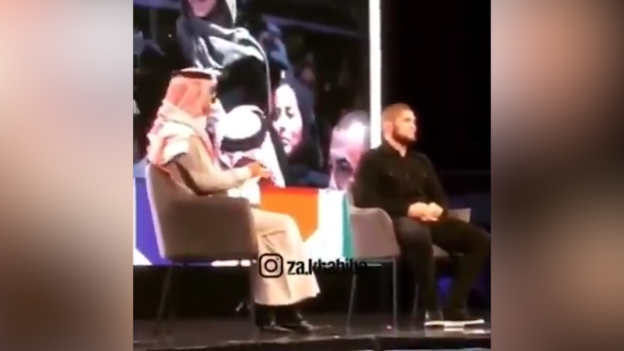 Khabib slammed for sexist comments