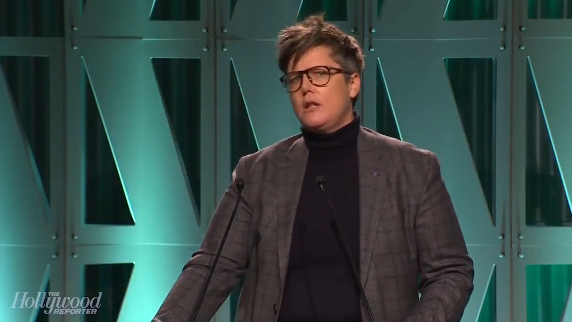 Hannah Gadsby calls out Hollywood's 'good men'