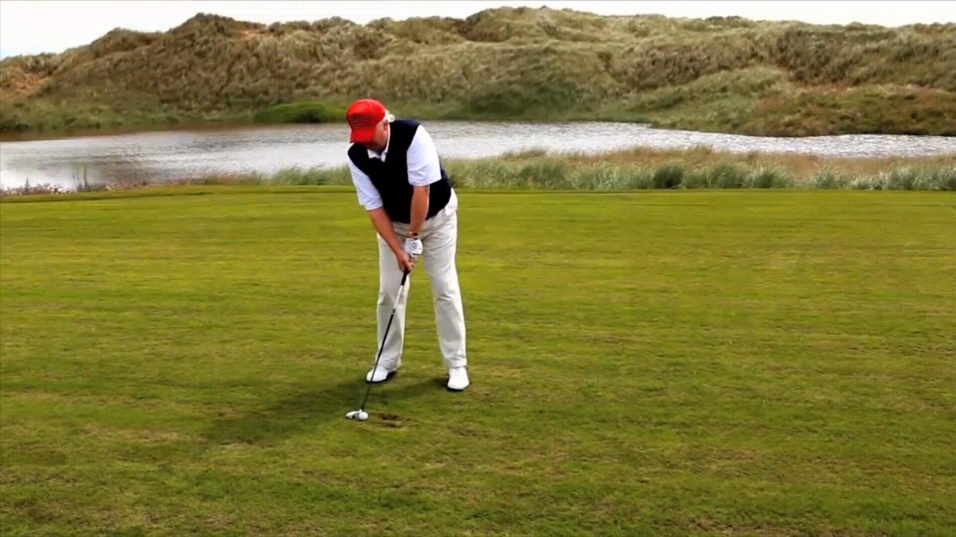 Battle over Trump's golf course dream