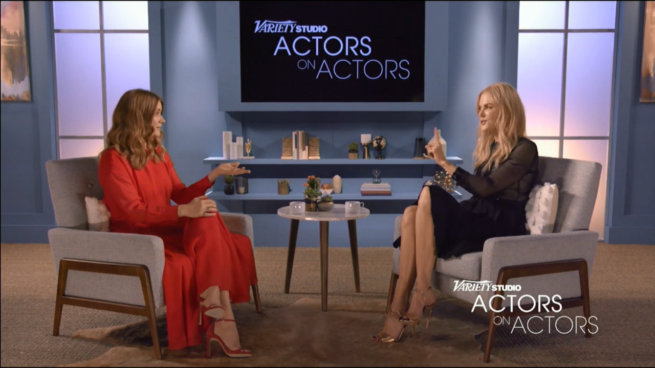 Nicole Kidman in conversation with Amy Adams