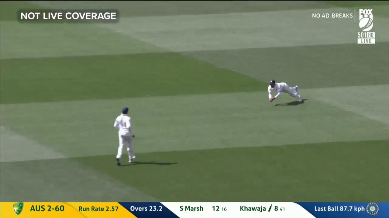Khawaja falls to Ashwin