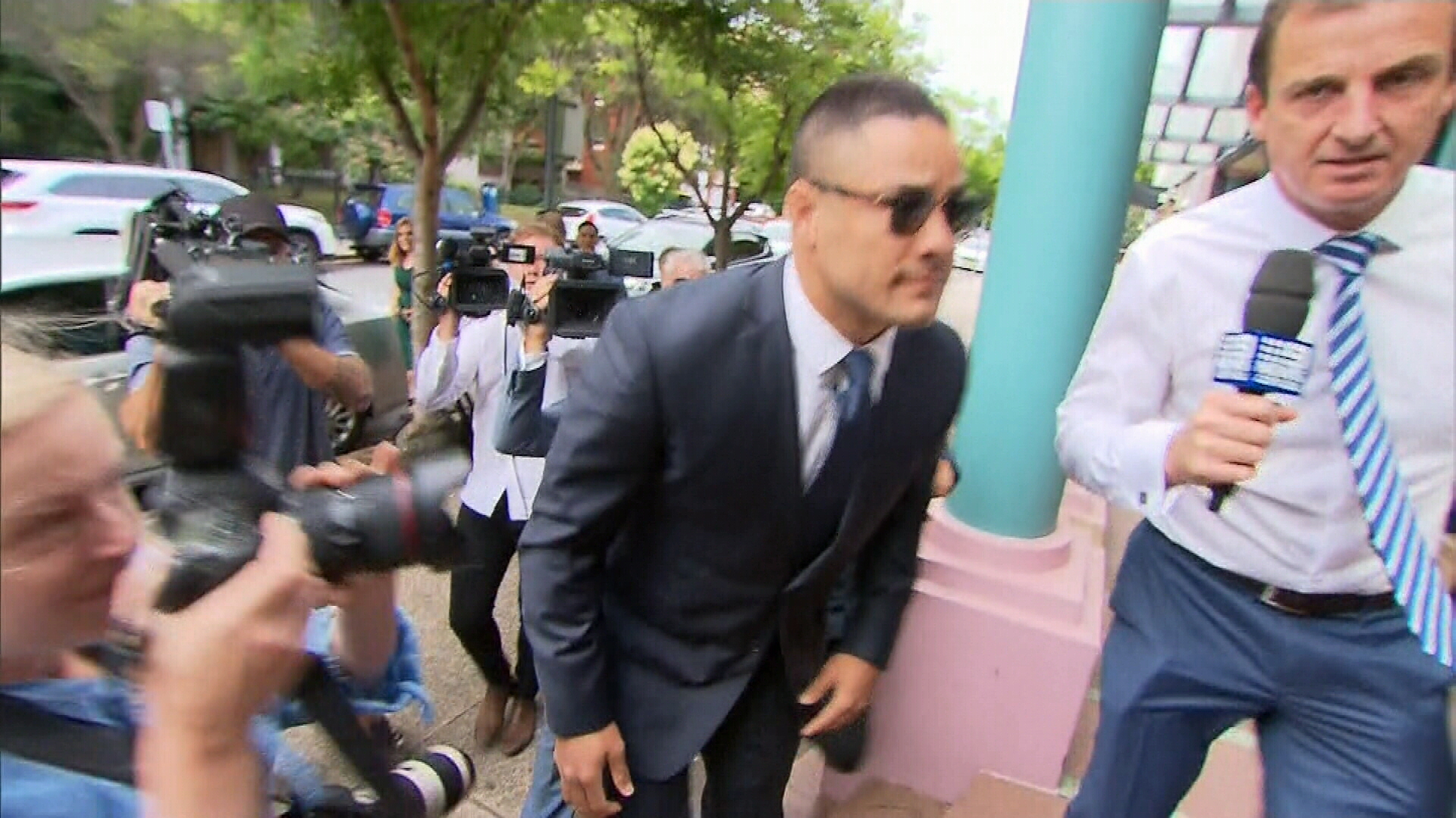Hayne pleads not guilty to sexual assault charges