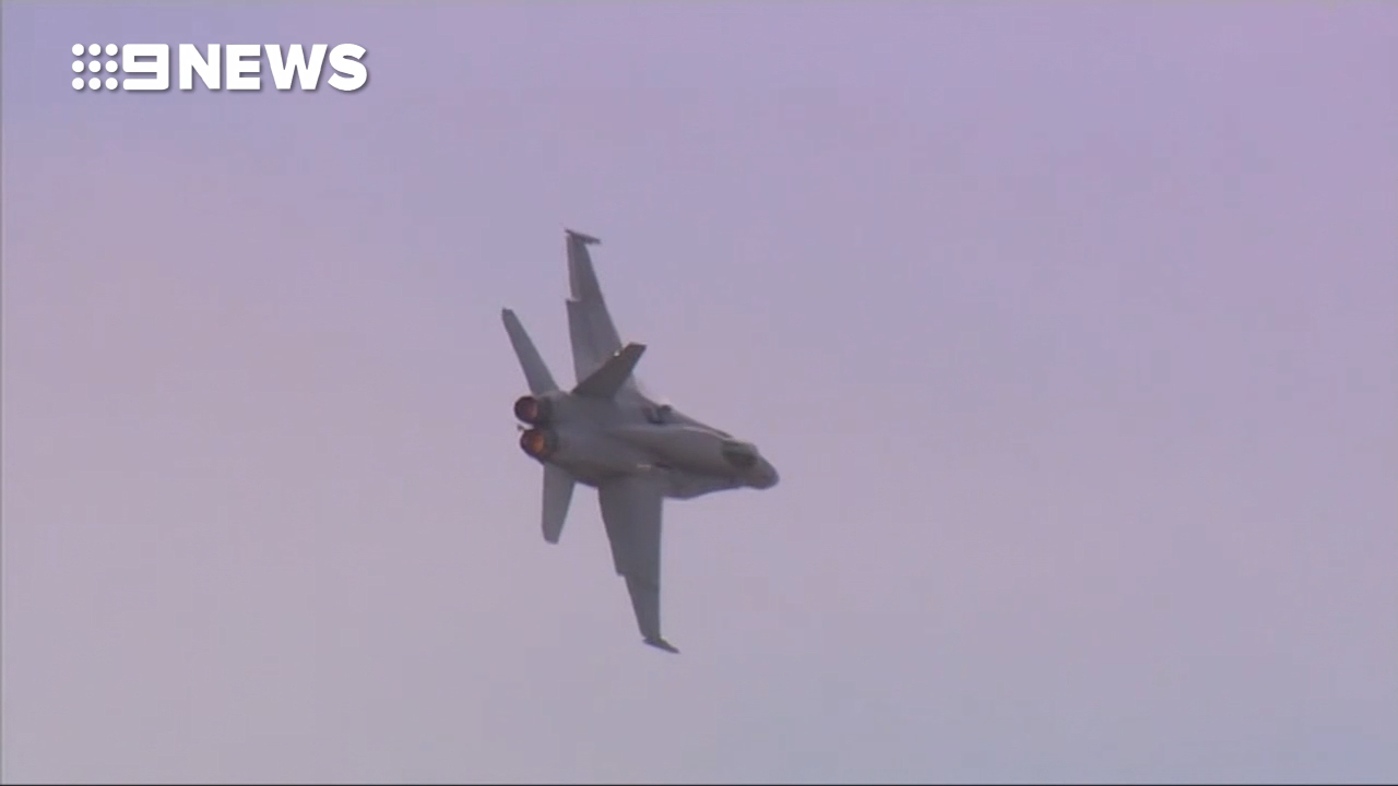 RAAF takes delivery of two world-leading fighter jets