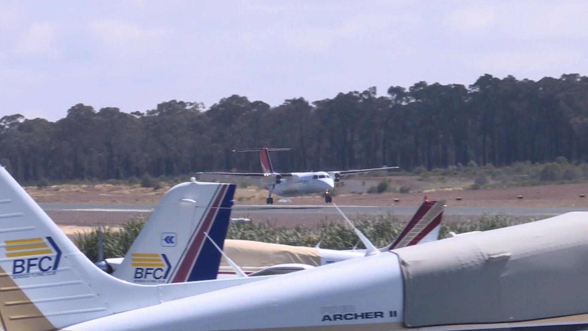 Qantas touches down in Bendigo