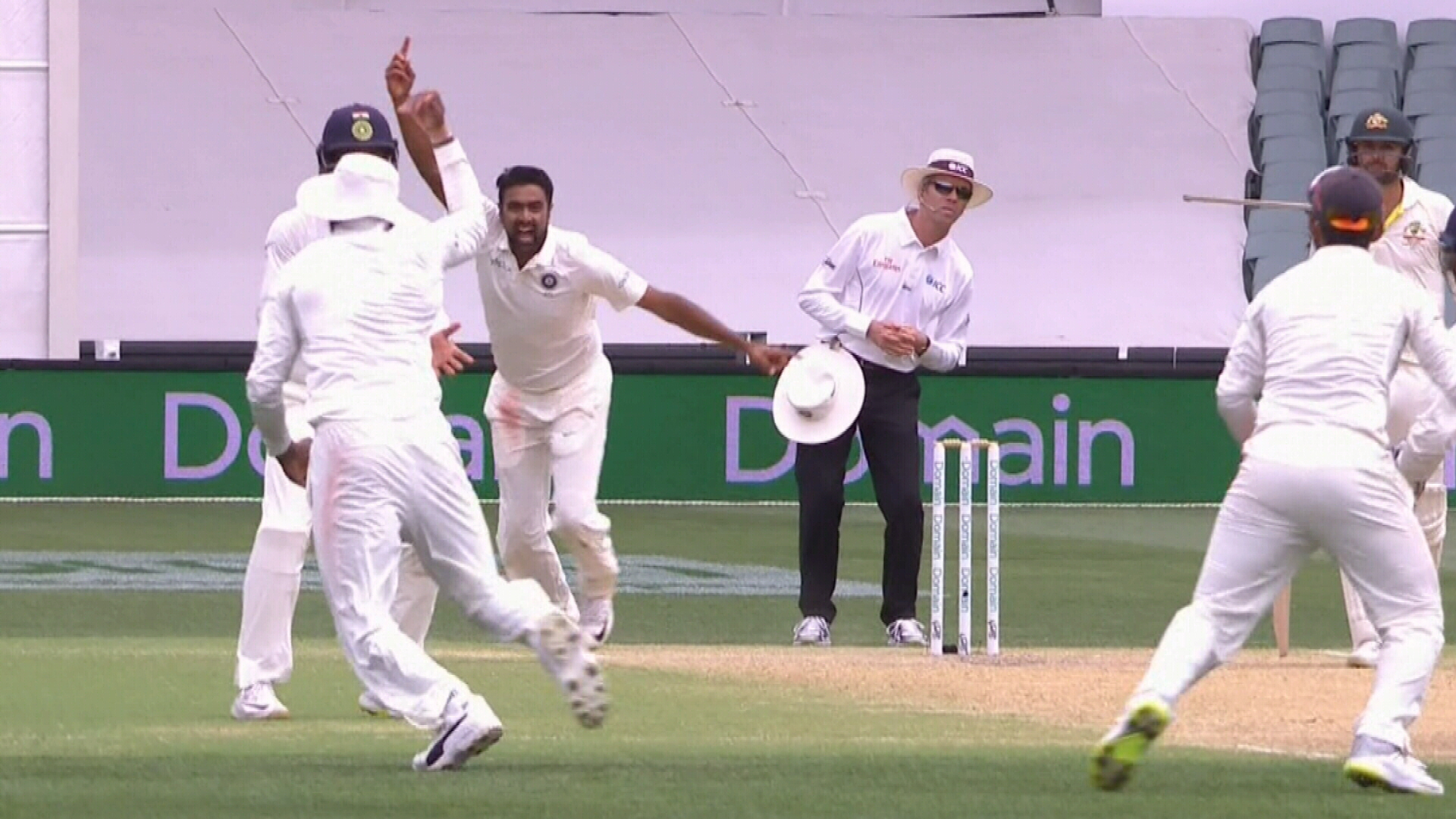 India claim the Adelaide Test