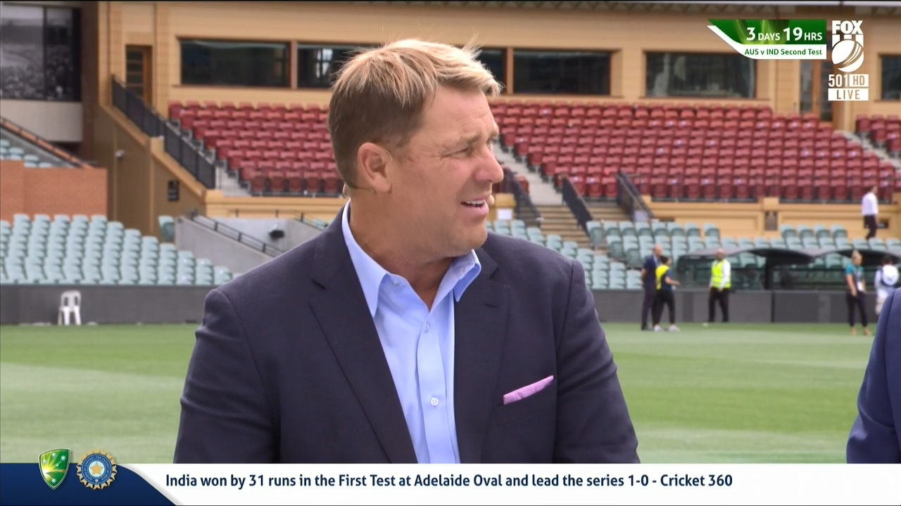 Warne backs Stoinis for Test call-up