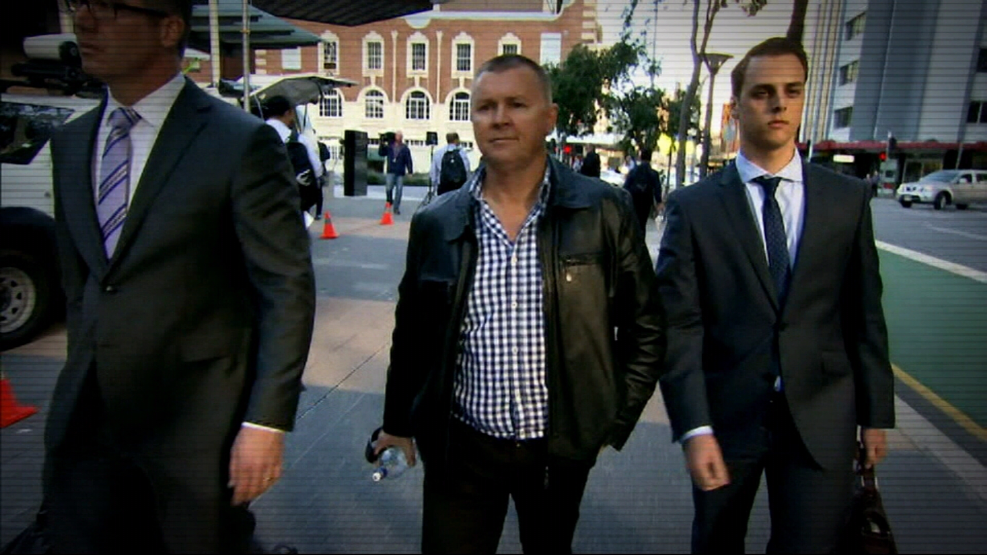 Former CFMEU boss fronts court