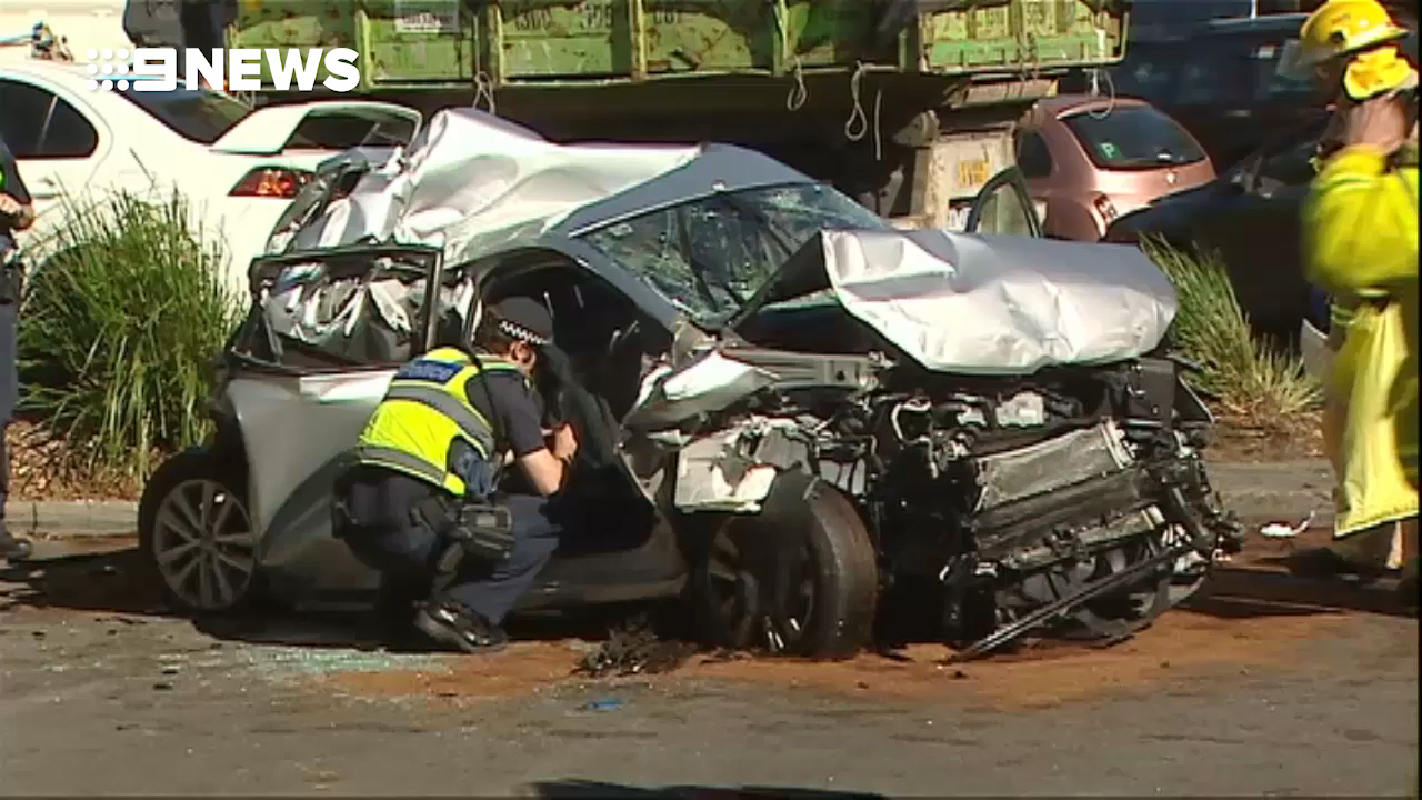 Truck has collided with a number of vehicles in Melbourne's east