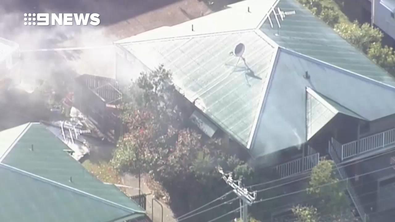 Man dies in suspicious Woody Point unit fire