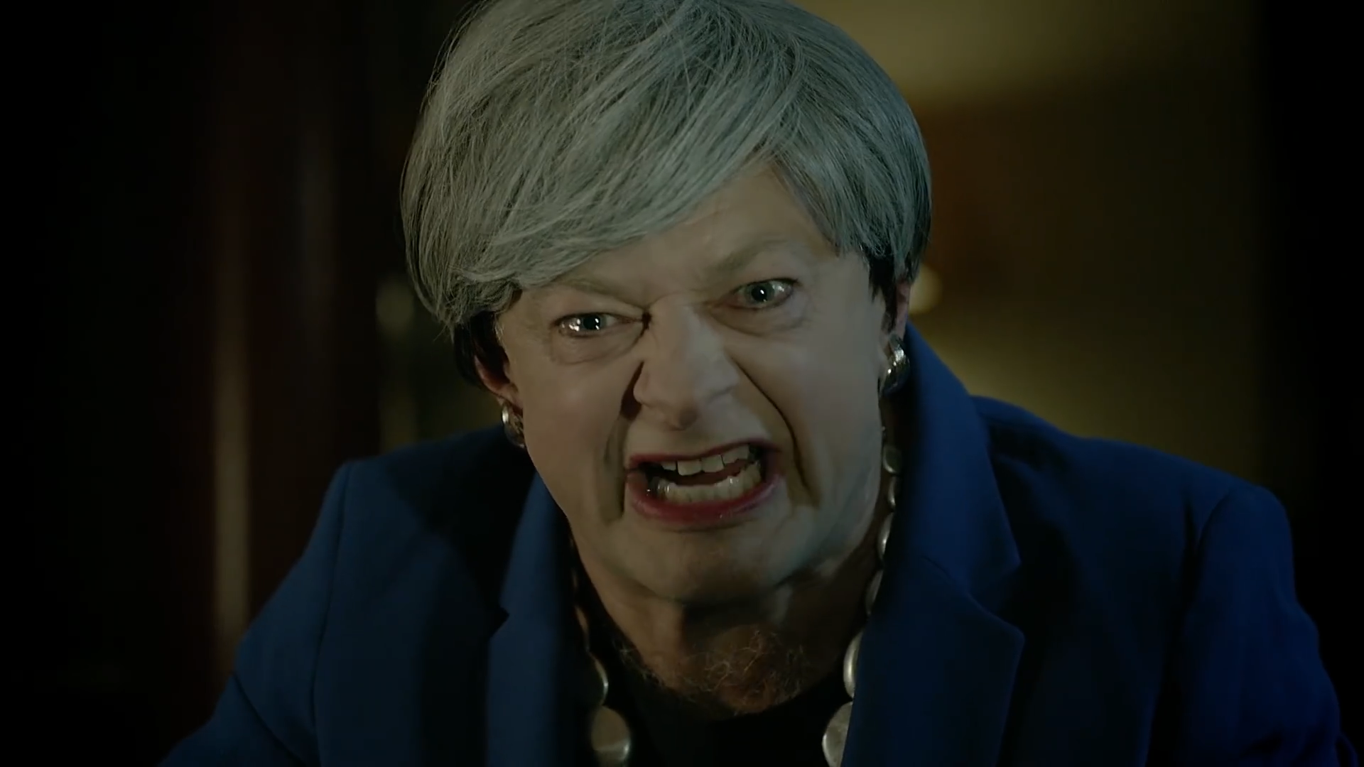 Andy Serkis resurrects Gollum to mock Brexit