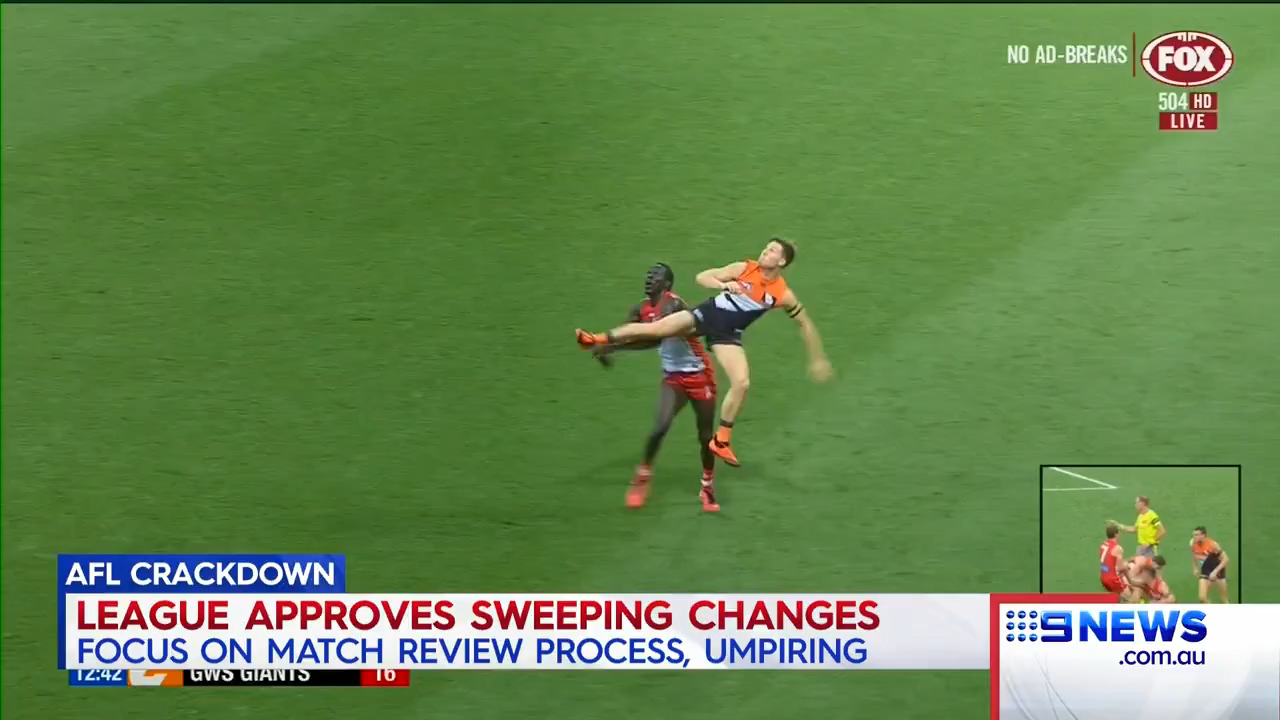 AFL make rule changes and updates