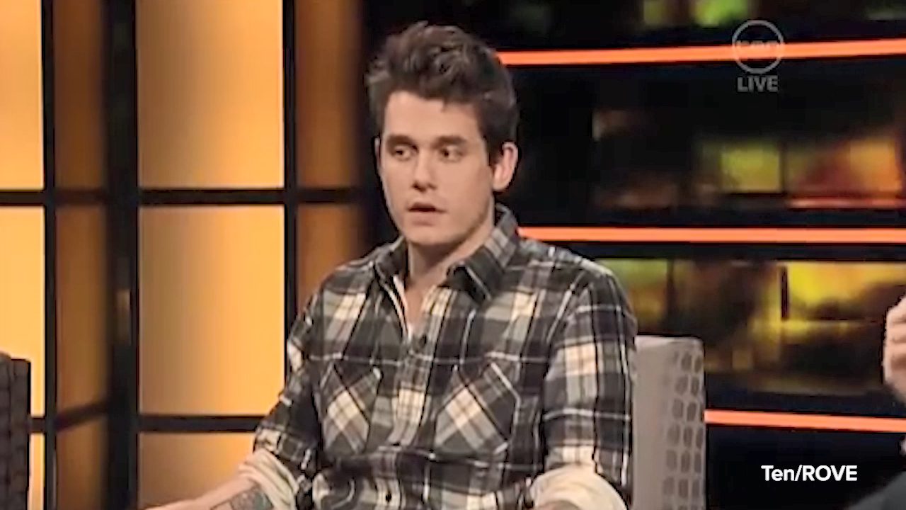 John Mayer chats to Rove McManus in 2009