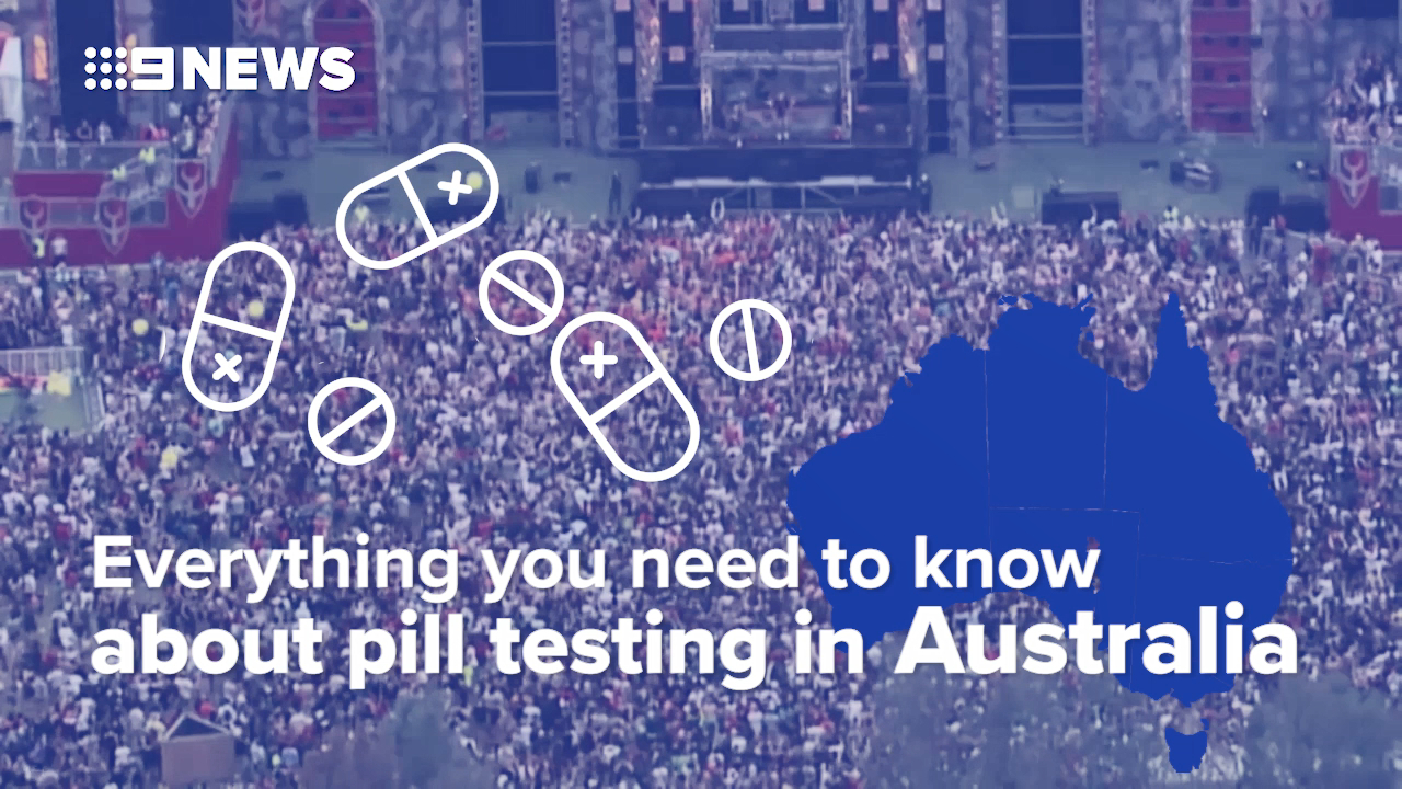 Pill testing at a glance