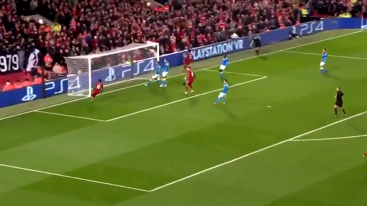 Salah scores for Liverpool