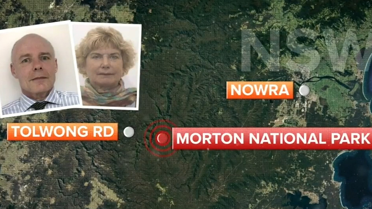 NSW missing hikers