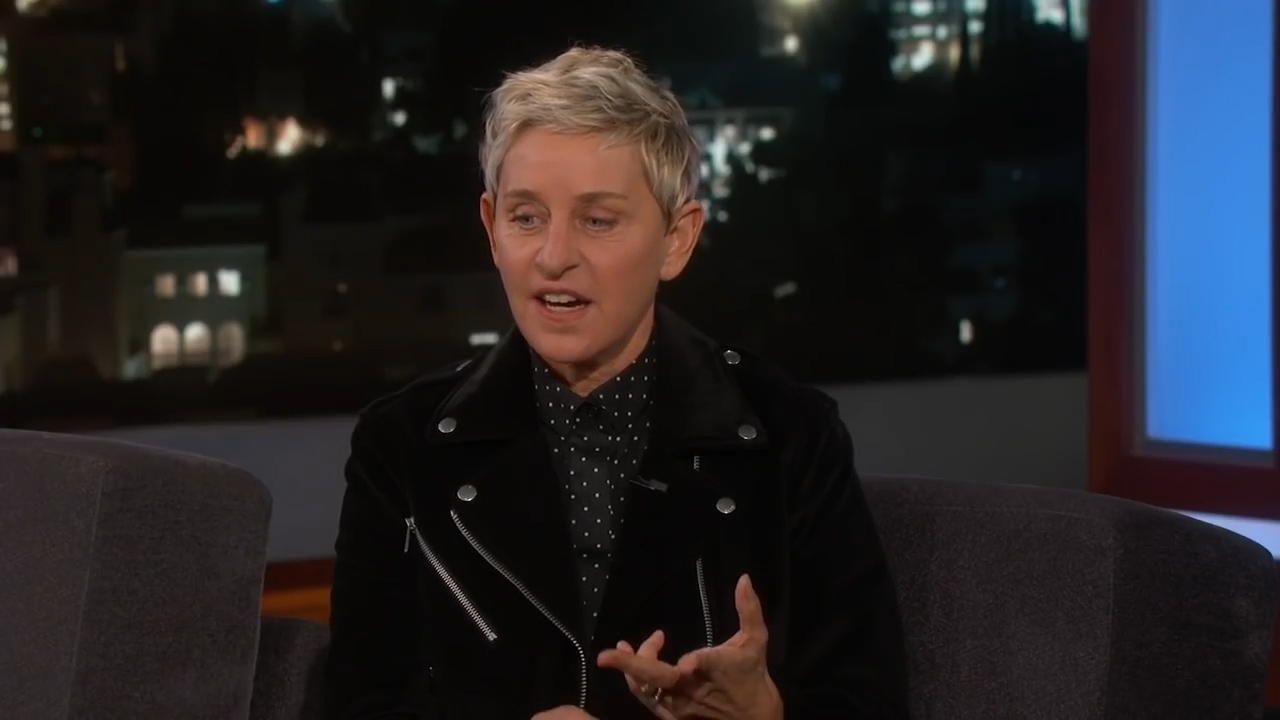 Ellen DeGeneres opens up about the early days on her talk show