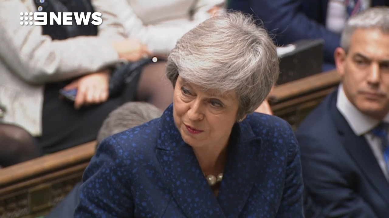 Theresa May survives vote of no-confidence