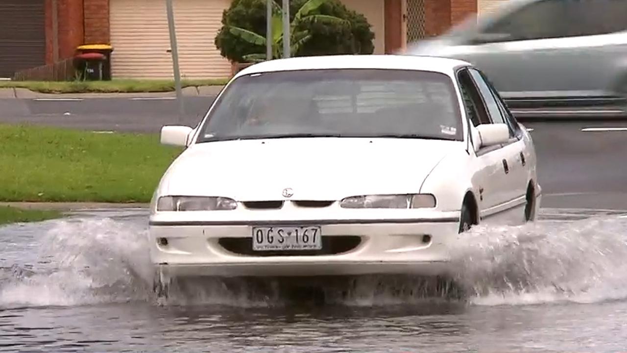 Victoria downpour
