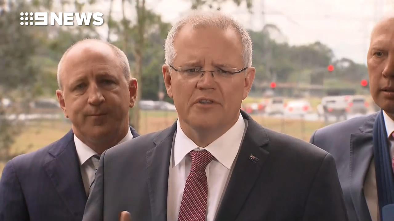 Scott Morrison promises infrastructure project for Queensland