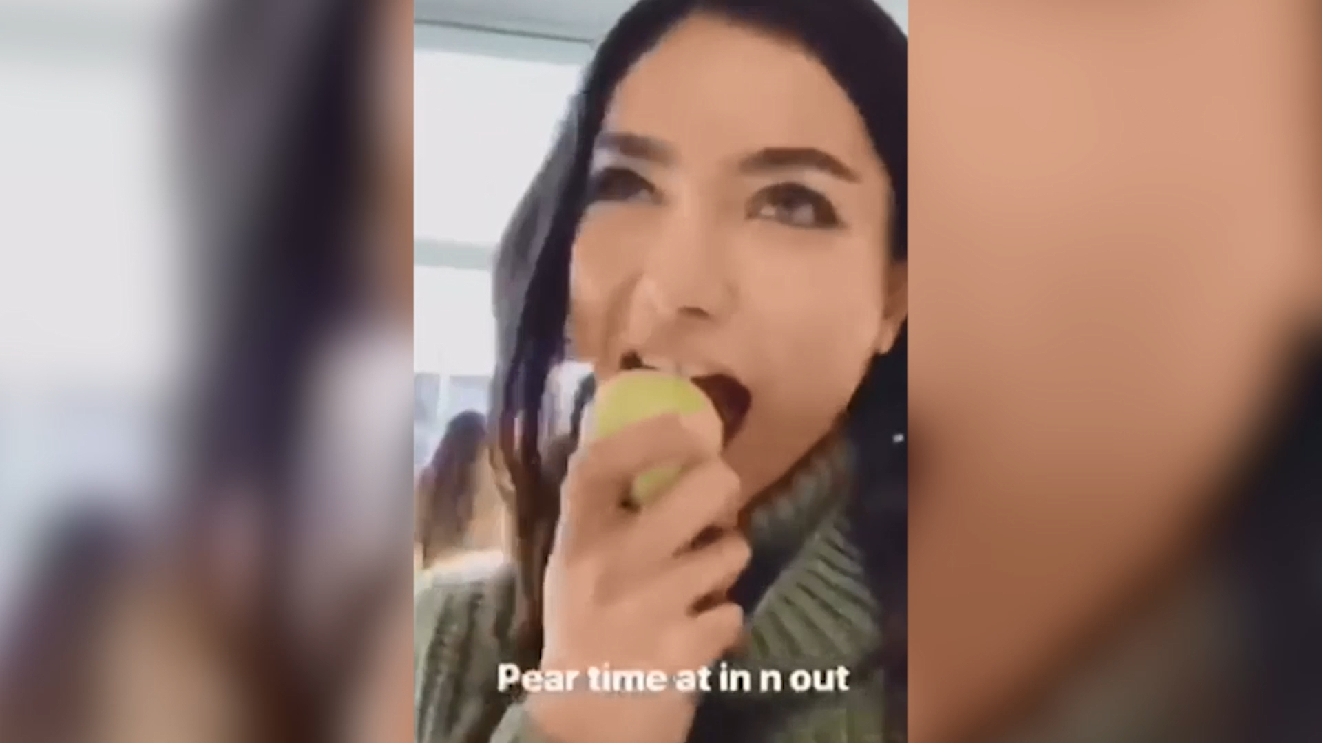 Kelly Gale at In-N-Out Burger