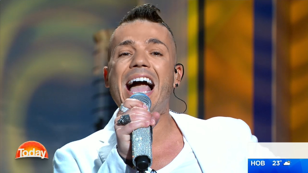 Anthony Callea performs on 'TODAY'