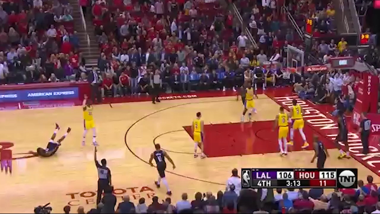 Harden ices game with triples