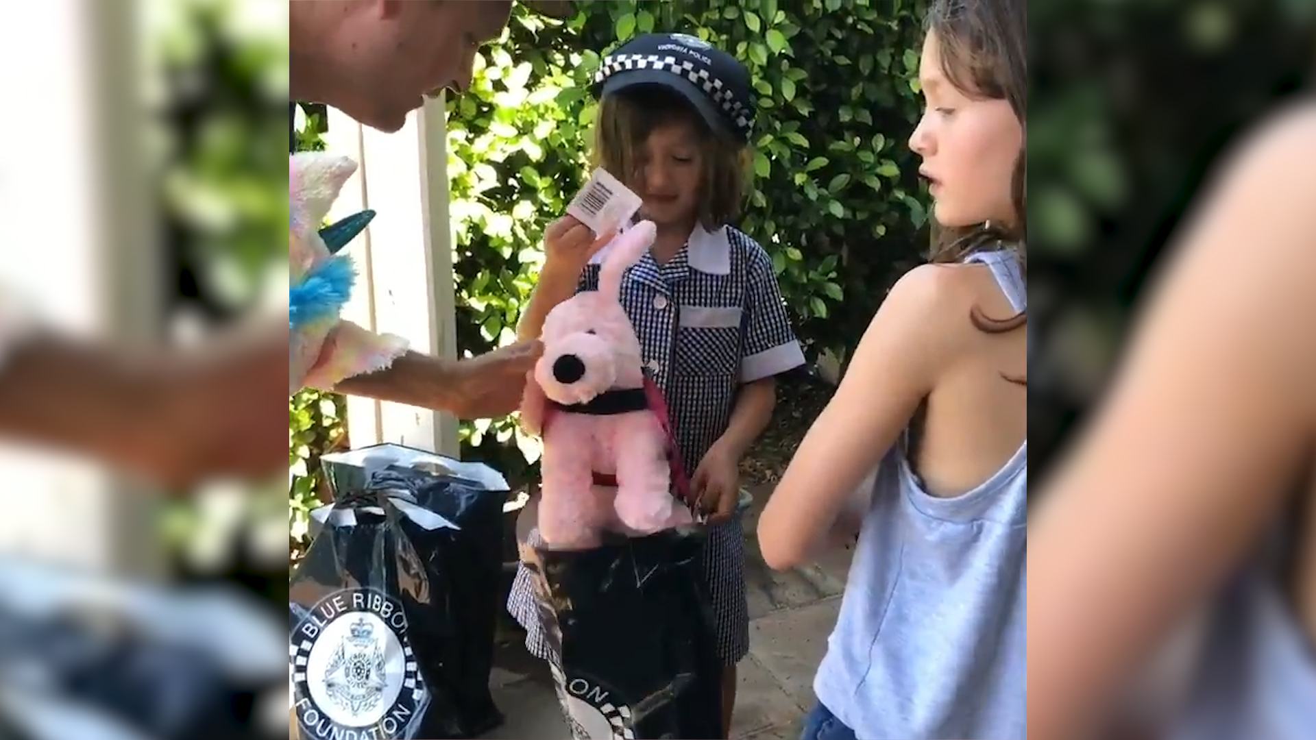 Victoria Police's act of kindness