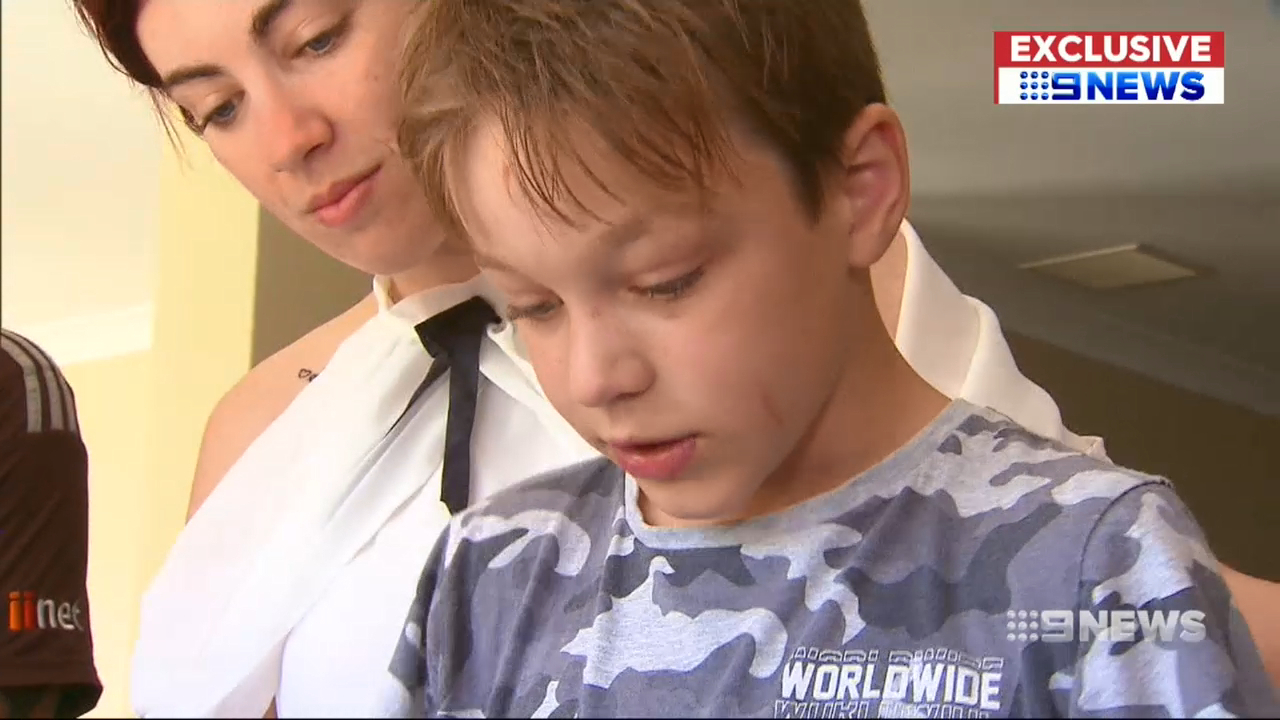 Eight-year-old autistic boy hasn't been to class in a year