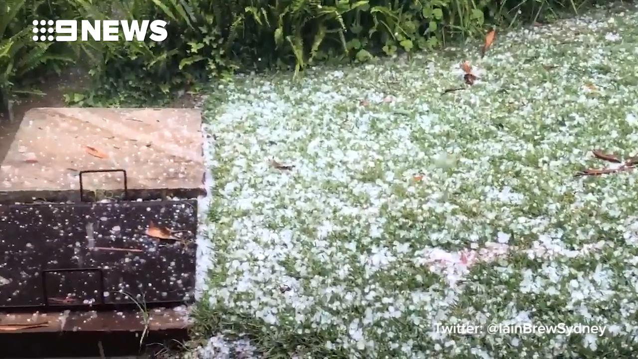 Severe storms batter Sydney
