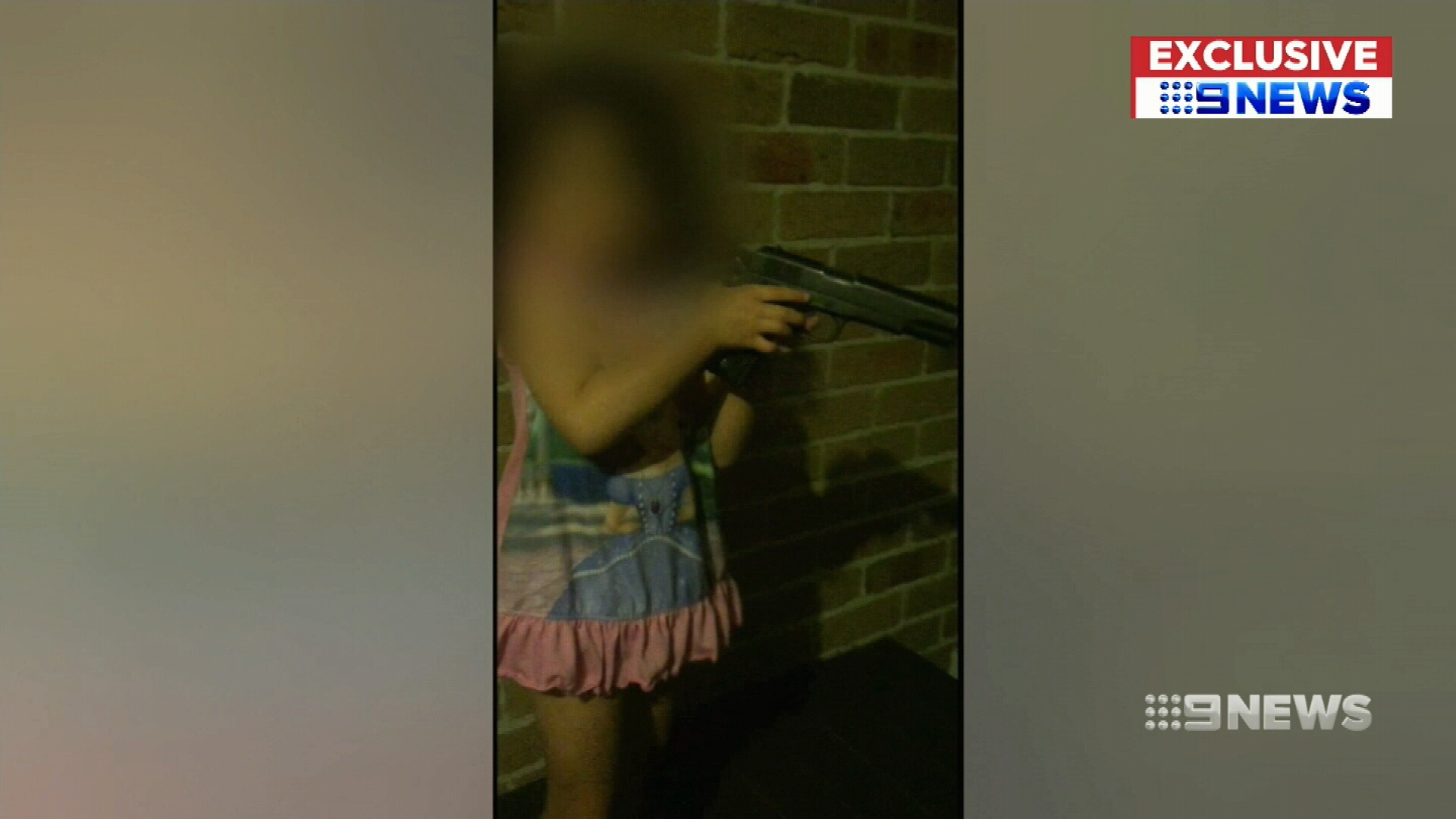 Father jailed for allowing daughter to play with pistol