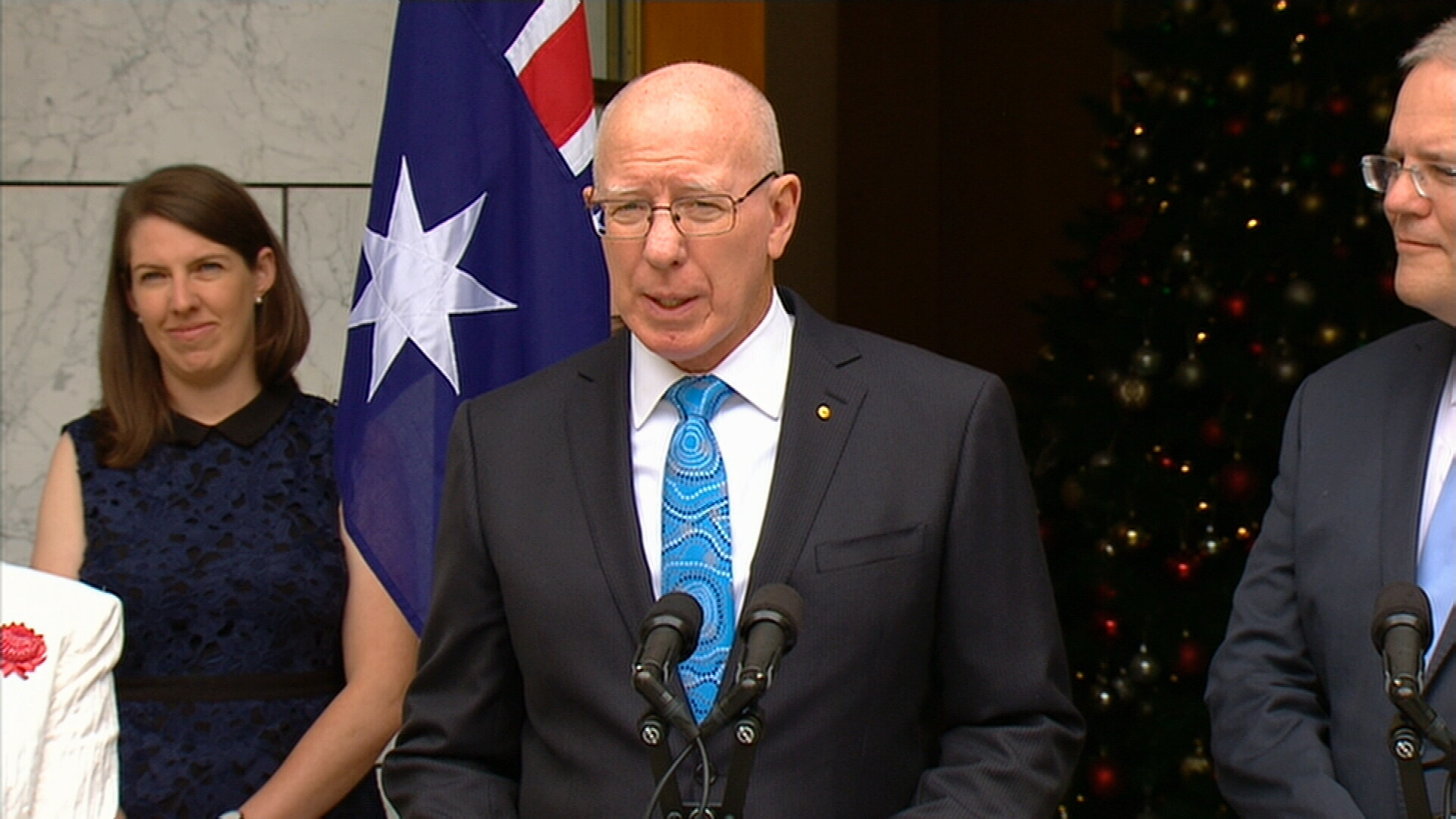 Hurley announced as next Governor-General