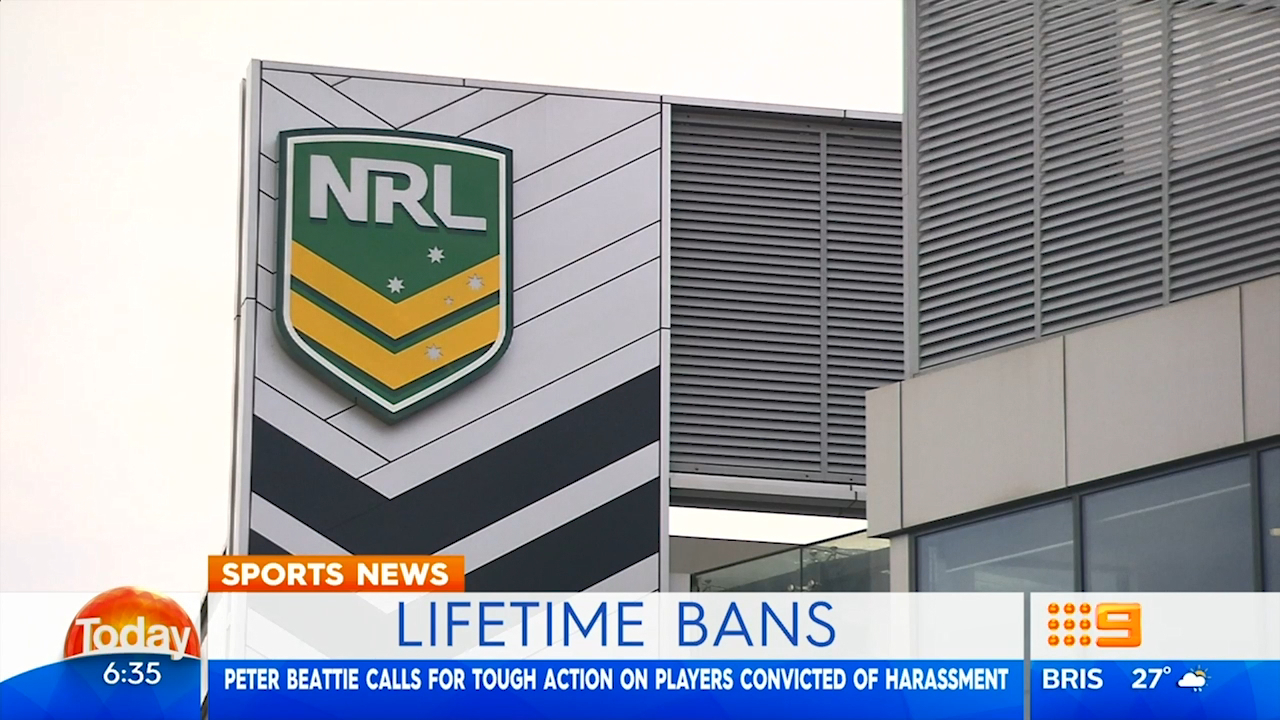 NRL calls for code-wide ban on convicted players