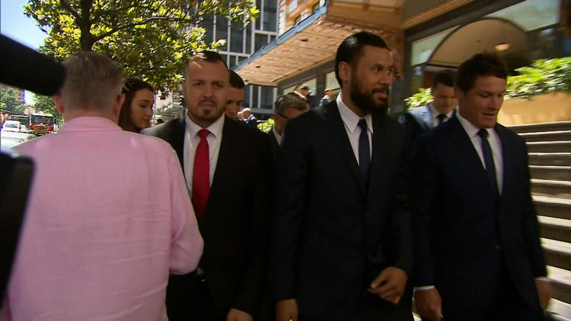 Mad Monday Bulldogs players plead guilty to obscene exposure