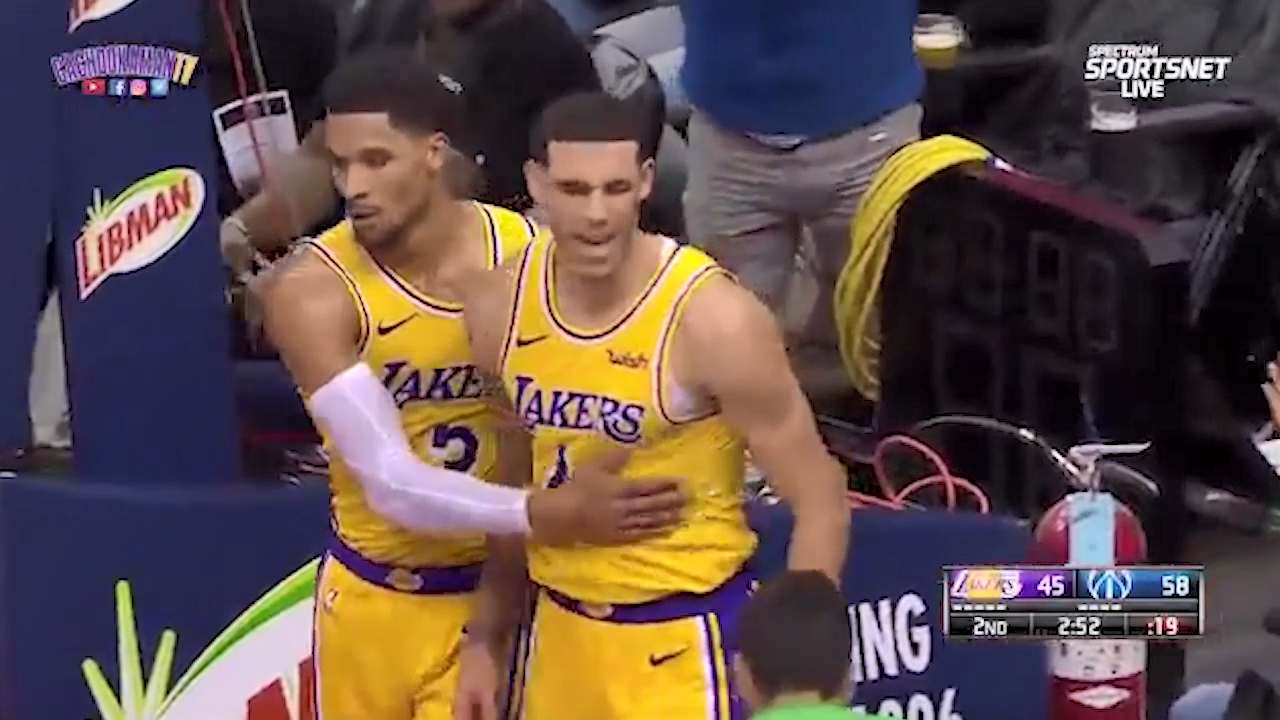 Lonzo shocked by no-call