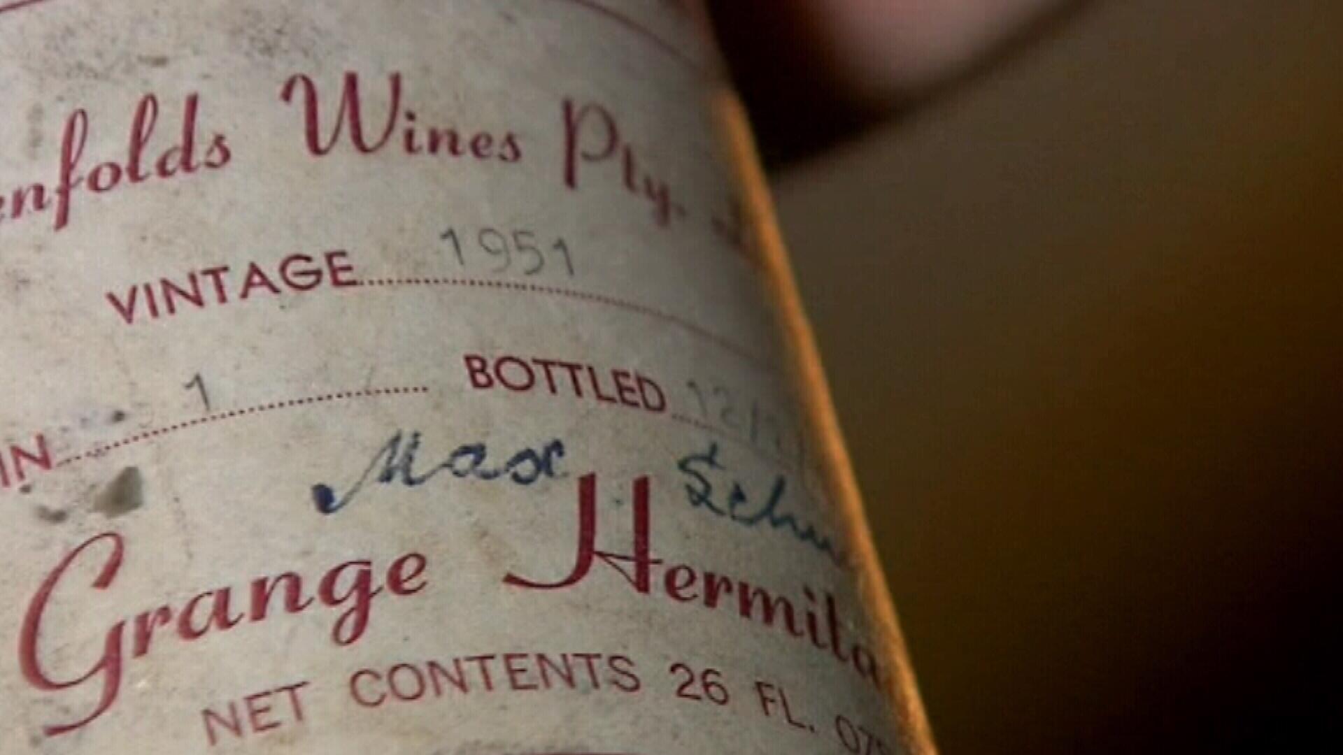 Rare bottle of 1951 Grange sells for $80,386