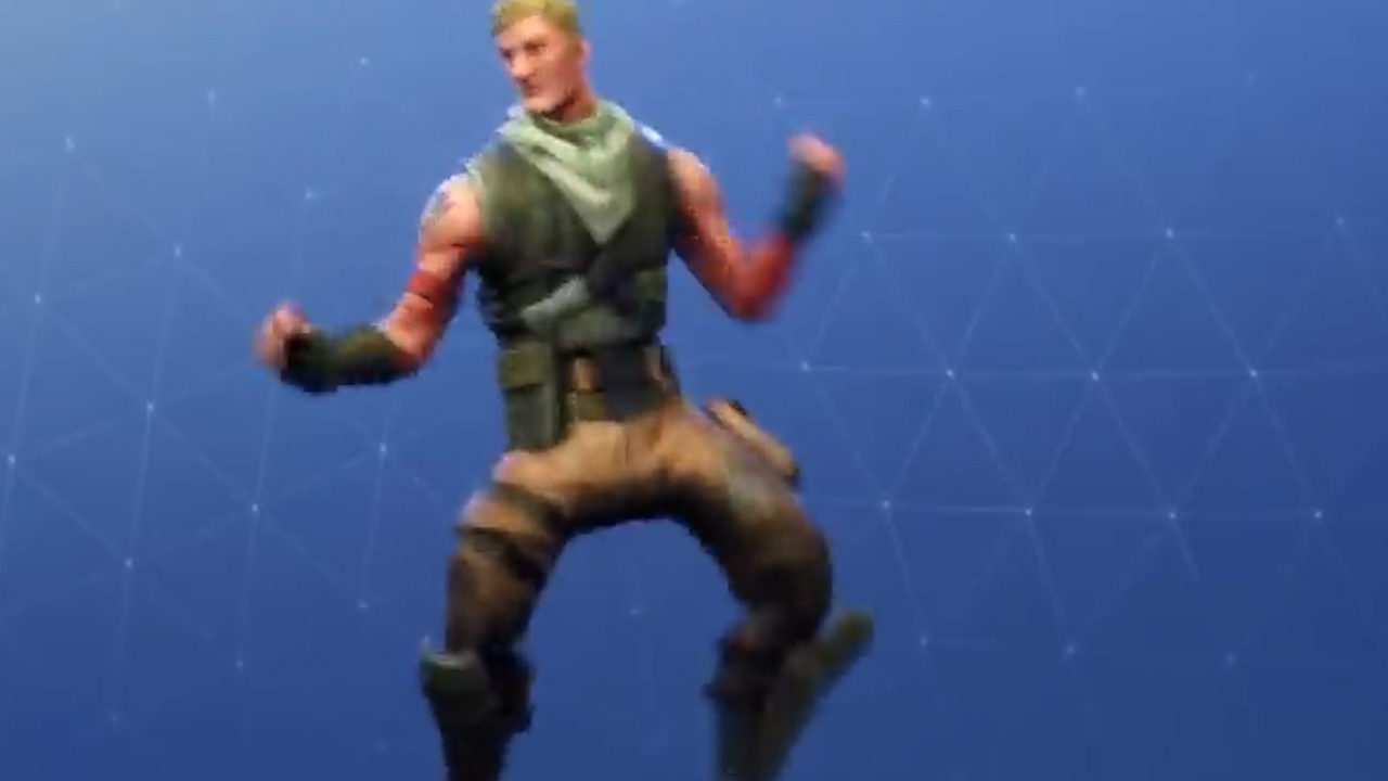 A 'Fortnite' dance move 'Fresh Emote' is similar to the Carlton Dance
